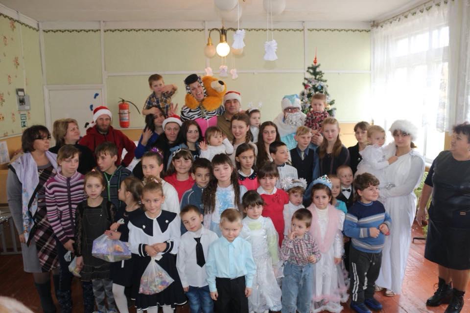 Дітей Українського Донбасу поздоровили з Новорічними святами.