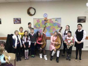 Богоявленський Святвечір на Українському подвір'ї