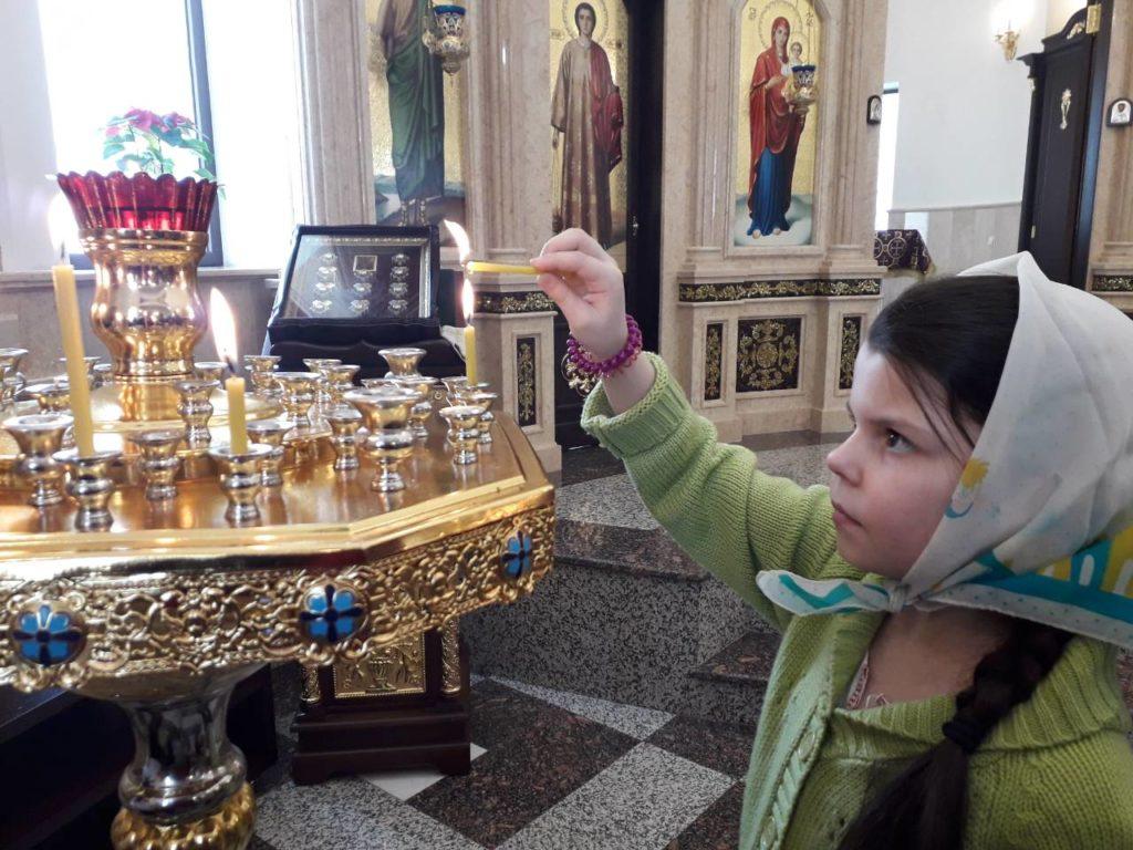 Діти Недільної школи на Причасті та Сповіді