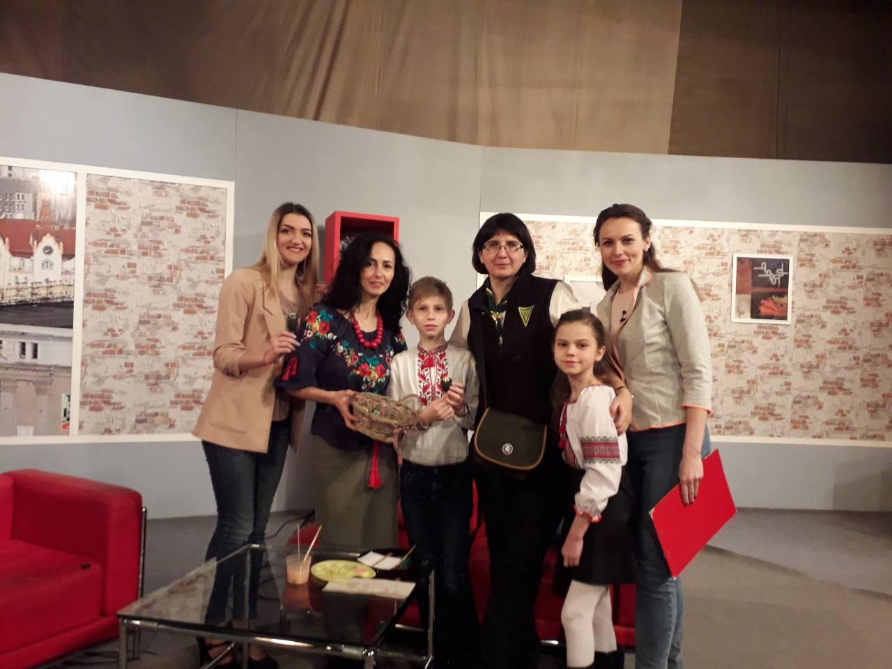 ''Українське подвір'я'' на телебаченні