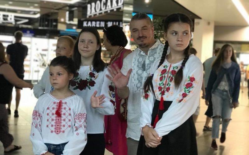 Флеш моб до Дня Конституції України