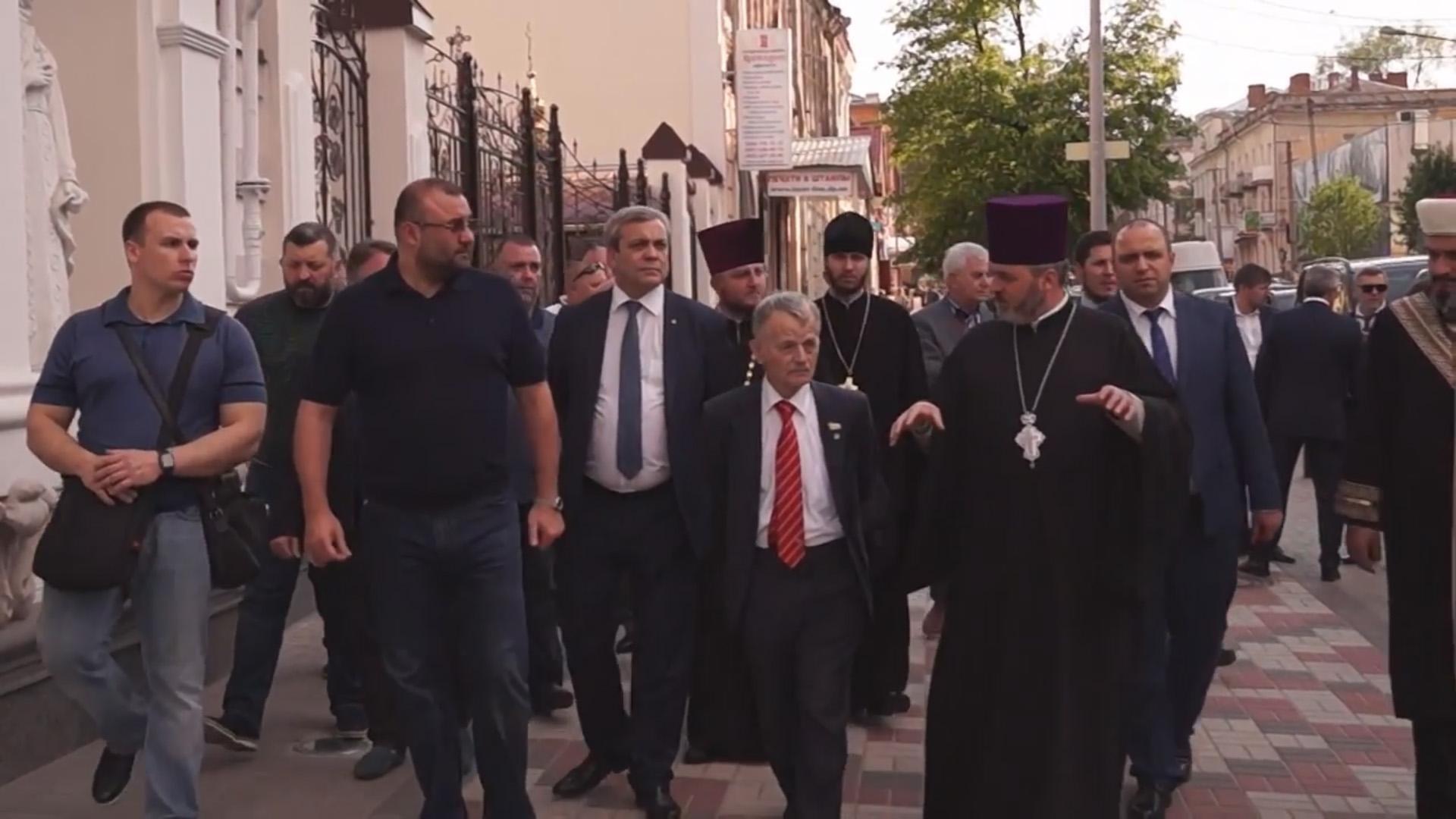 Візит Кримськотатарської делегації до Дніпра (2018)