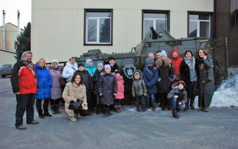 Екскурсія до полку Дніпро-1