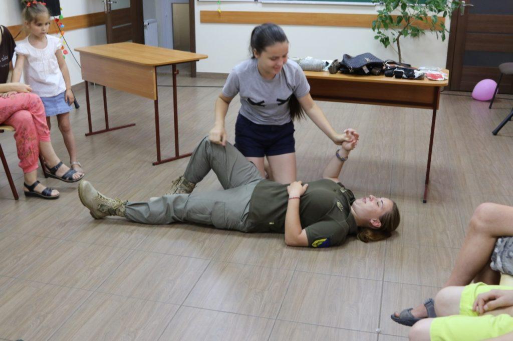 Тренінг з домедичної допомоги