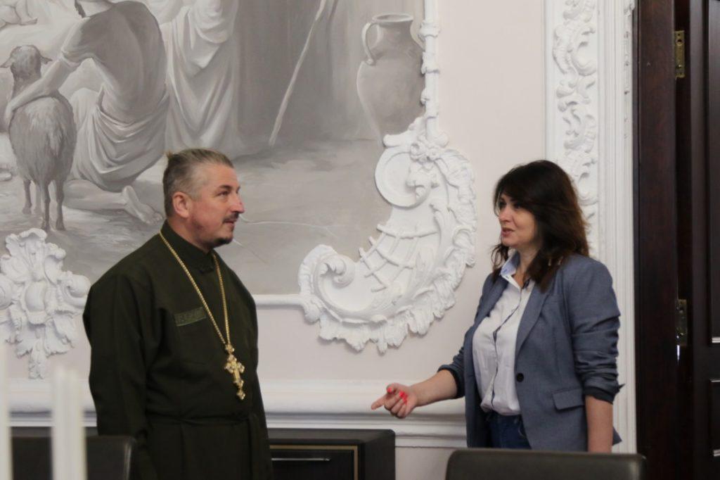 Зустріч з міністром у справах ветеранів України Іриною Фріз